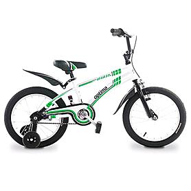 """Велосипед детский Optima Ninja 16"""" белый с зеленым"""