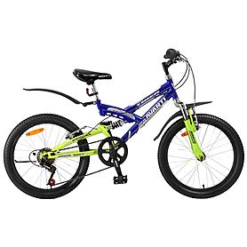 """Велосипед детский Avanti Tiger - 20"""", рама - 12"""", синий (RA04-804-BLUE-K)"""