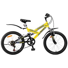 "Велосипед детский Avanti Tiger - 20"", рама - 12"", желтый (RA04-804-YLW-K)"