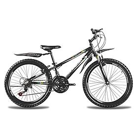 Фото 1 к товару Велосипед горный подростковый Premier XC 24 2014 24'' черно-голубой + подарок