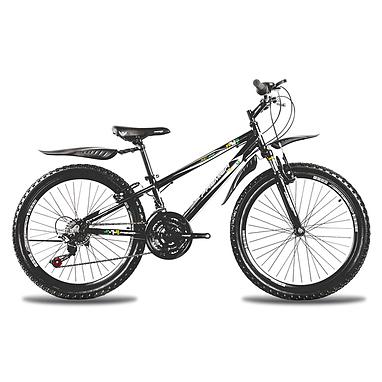 Велосипед горный подростковый Premier XC 24 2014 24'' черно-голубой + подарок