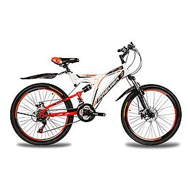 """Велосипед подростковый горный Premier Raptor 24 Disc RS35 - 24"""", рама - 16"""", белый (TI-13808)"""