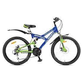 Фото 1 к товару Велосипед подростковый горный Avanti Pirate Disk 24 синий