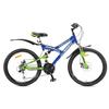 Велосипед подростковый горный Avanti Pirate Disk 24 синий - фото 1
