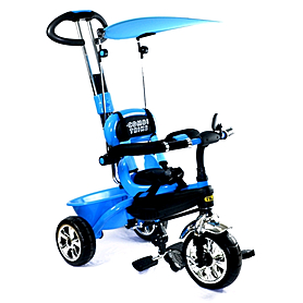 """Велосипед детcкий трехколесный Baby Tilly Combi Trike - 8.5"""", синий (BT-CT-0013 BLUE)"""