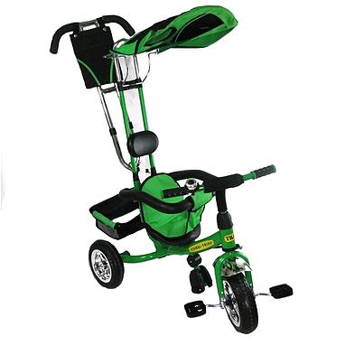 Велосипед детский трехколесный Baby Tilly Combi Trike BT-TC-509 (BT-CT-0010) Green