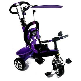 Фото 1 к товару Велосипед детский трехколесный Baby Tilly Combi Trike BT-CT-0013 Purple