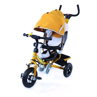Велосипед детский трехколесный Baby Tilly Combi Trike BT-CT-0015 Golden