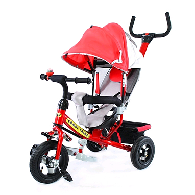 Велосипед детский трехколесный Baby Tilly Combi Trike BT-CT-0015 Red
