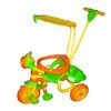 Велосипед детский трехколесный Baby Tilly 9029-3 крыша, ручка - фото 1