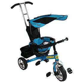 Фото 1 к товару Велосипед детский трехколесный Baby Tilly Combi Trike BT-CT-0001 Blue