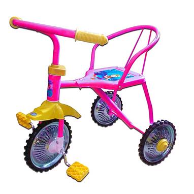 Велосипед детский трехколесный Baby Tilly BT-007CP зеленый, синий, малиновый, оранжевый