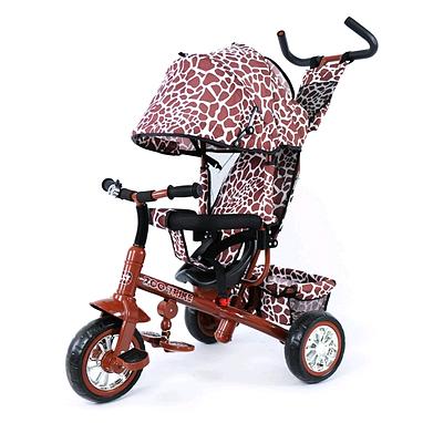 Велосипед детский трехколесный Baby Tilly Blue Zoo-Trike BT-CT-0005 Brown