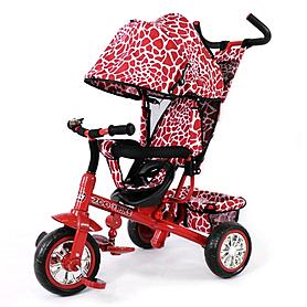 Фото 1 к товару Велосипед детский трехколесный Baby Tilly Blue Zoo-Trike BT-CT-0005 Dark Red