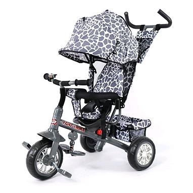 Велосипед детский трехколесный Baby Tilly Blue Zoo-Trike BT-CT-0005 Grey