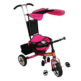 Фото 1 к товару Велосипед детский трехколесный Baby Tilly Combi Trike BT-CT-0001 Pink