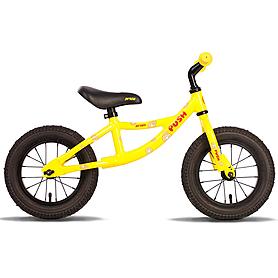 """Беговел детский Pride Push 12"""" жёлто-черный (модель 2015 года)"""