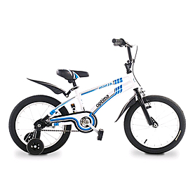 "Велосипед детский Optima Ninja 16"" бело-синий"