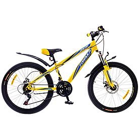 """Велосипед подростковый горный Formula Dakar 2015 - 20"""", рама - 10,5"""", желто-синий (PCT*-FR-20-000-1)"""