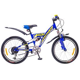"""Велосипед подростковый горный Formula Kolt 2015 - 20"""", рама - 13"""", синий (PCT*-FR-20-005-1)"""