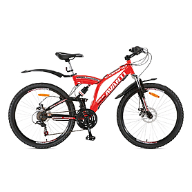 Фото 1 к товару Велосипед горный Avanti Torino 26'' 2015 черно-красный рама - 18,5