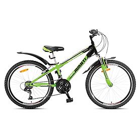 "Велосипед горный подростковый Avanti Dakar Disk 2015 - 24"", рама - 13"", зелено-черный (RA04-950M13-GRN/BLK-K)"