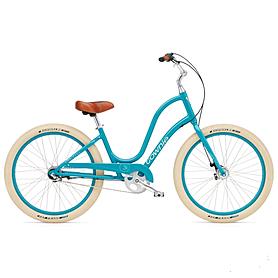"Велосипед городской женский Electra Townie Balloon 3i 26"" Ladies' Azure"