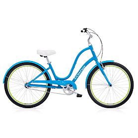 """Велосипед городской женский Electra Townie Original 3i Ladies' 26"""" Caribbean Blue"""