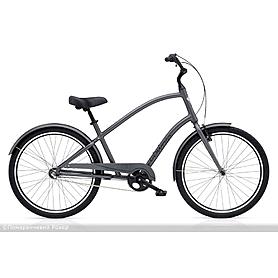 """Велосипед городской Electra Townie Original 3i Men's 26"""" Satin Graphite"""