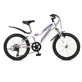 """Велосипед детский горный Intenzo Spike 20"""" 2014 белый рама - 11"""""""