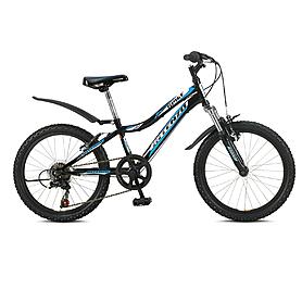 """Велосипед детский горный Intenzo Spike 20"""" 2014 черный рама - 11"""""""