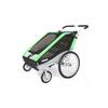 Велоколяска детская Thule Chariot Chetah2 + набор колес, зеленая - фото 2