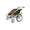 Велоколяская детская Thule Chariot Cougar1 + набор колес, зеленая - фото 2