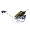 Велоколяская детская Thule Chariot Cougar1 + набор колес, зеленая - фото 5