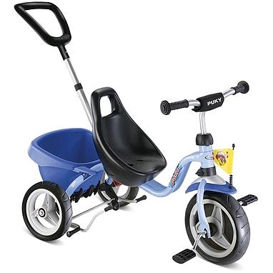 Велосипед детский трехколесный Puky CAT 1S голубой