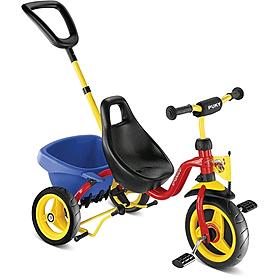 Велосипед детский трехколесный Puky CAT 1S, красный (LR-000945/2324)