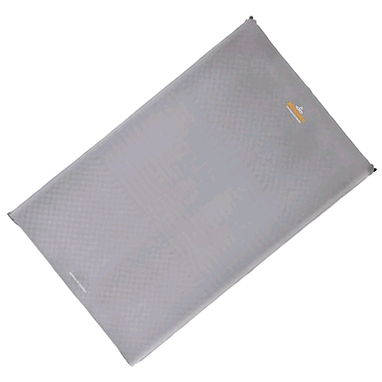 Коврик надувной Pinguin NOMAD 50 Double серый (198х130х5 см)