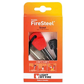 Фото 2 к товару Огниво Light My Fire Swedish FireSteel Scout Basic pin-pack