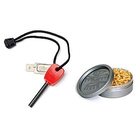 Набор для розжига Light My Fire FS Scout + Tinder Combo красный