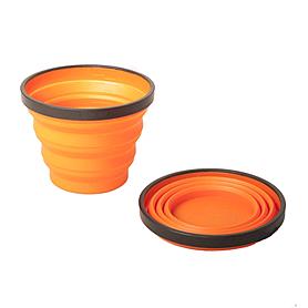 Фото 1 к товару Кружка складная Sea to Summit X-Mug 480 мл оранжевая