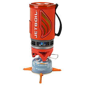 Горелка туристическая Jetboil Flash 1л красная