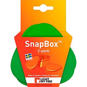 Фото 4 к товару Набор посуды Light My Fire SnapBox 2-pack лайм/зеленый