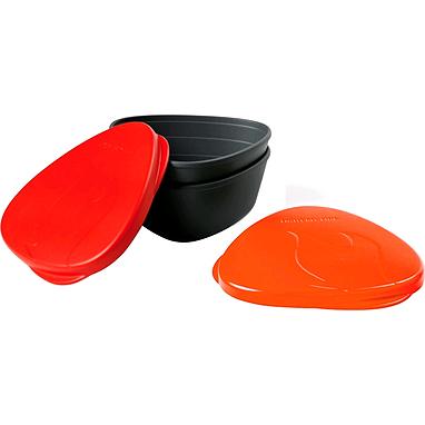 Набор посуды Light My Fire SnapBox 2-pack красный/оранжевый