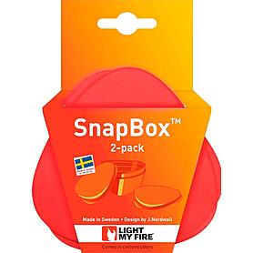 Фото 4 к товару Набор посуды Light My Fire SnapBox 2-pack красный/оранжевый
