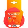 Набор посуды Light My Fire SnapBox 2-pack красный/оранжевый - фото 4