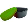 Набор посуды Light My Fire SnapBox 2-pack зеленый/голубой - фото 2