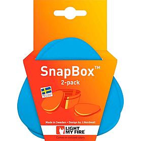 Фото 4 к товару Набор посуды Light My Fire SnapBox 2-pack зеленый/голубой