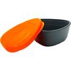 Набор посуды Light My Fire SnapBox 2-pack оранжевый/черный - фото 2