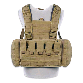 tasmanian tiger Жилет разгрузочный Tasmanian Tiger TT Chest Rig MKII M4 хаки TT 7160.343