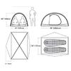 Палатка двухместная Marmot Traillight FX 2P hatch/dark cedar - фото 2